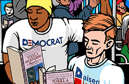 Bridging the political divide with books
