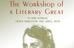 The Workshop of a Literary Great