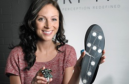 A shoe insole that could save lives