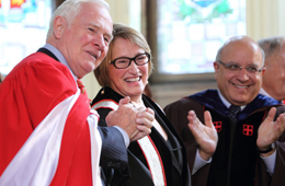 It's official: Suzanne Fortier installed as McGill's new principal